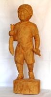 画像1: 希望   木彫