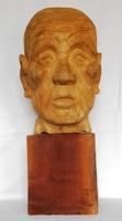 画像1: 100歳の私。  木彫