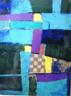 画像1: 佑理の抽象画(サンパウロにて)