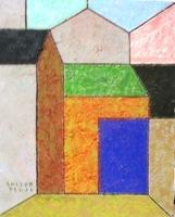 画像1: 佑理の叔父の抽象画