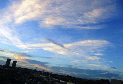 画像1: 大空に